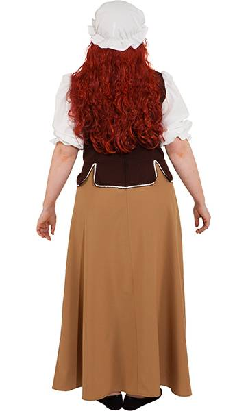 Costume-paysanne-Moyen-âge-3