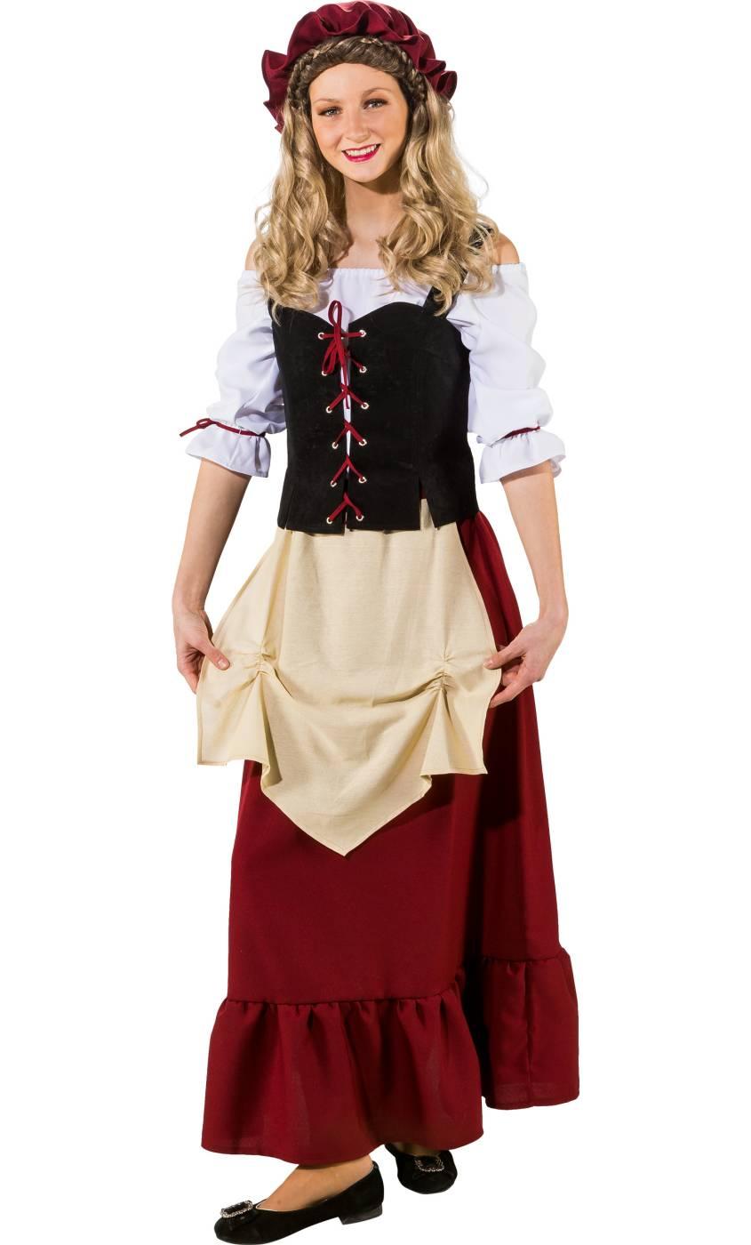 Costume-Paysanne-M�di�vale