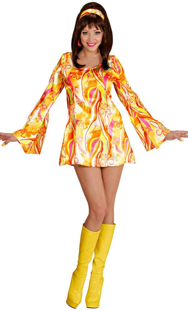 Mini-robe-70s-Orange