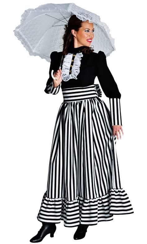 Costume belle époque , dame 1900 , Déguisement femme