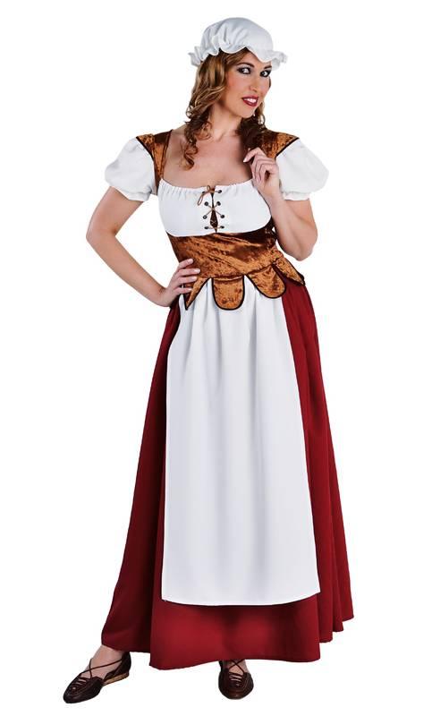 Costume paysanne mediévale