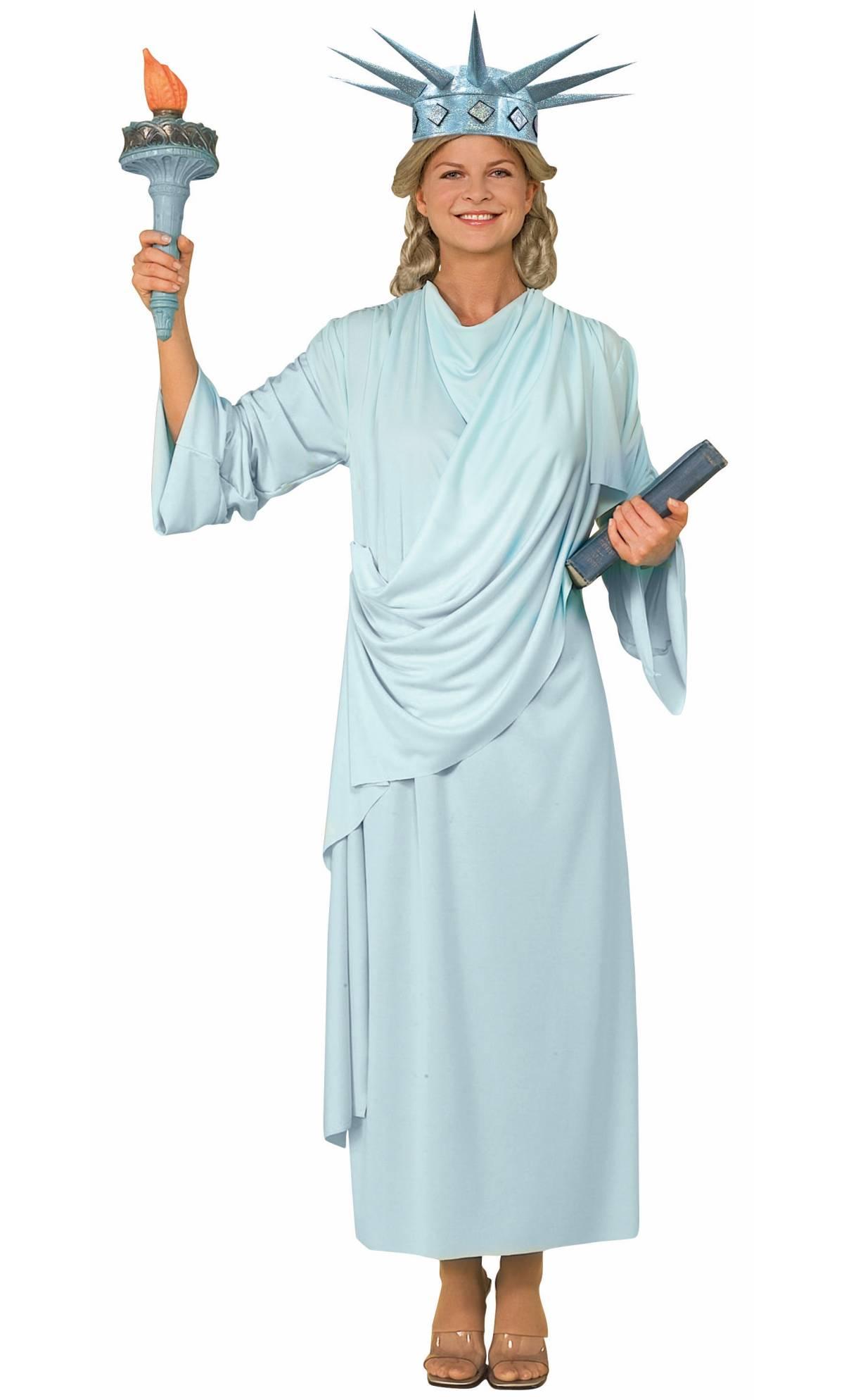 Costume-Statue-de-la-Libert�