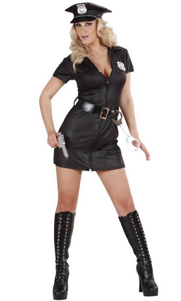 Costume policière femme