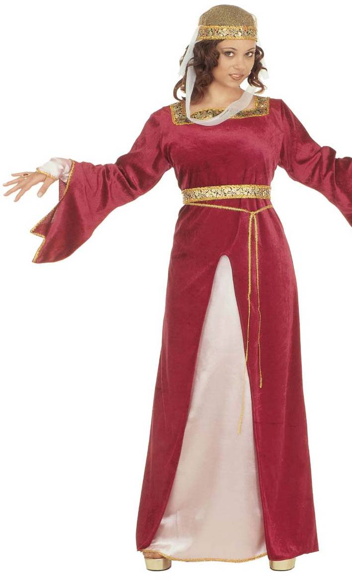 Costume-Méviévale-Mildrède-Grande-Taille-XL