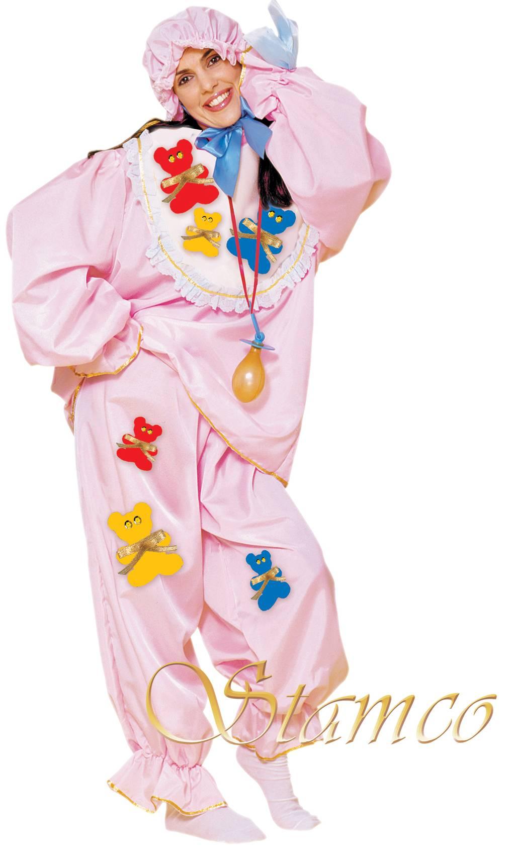 Costume-Bébé-rose