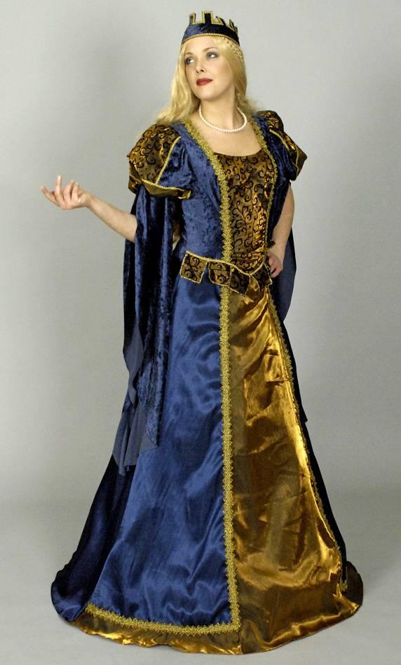 Robe-Renaissance-F3-Grande-Taille-XL-2