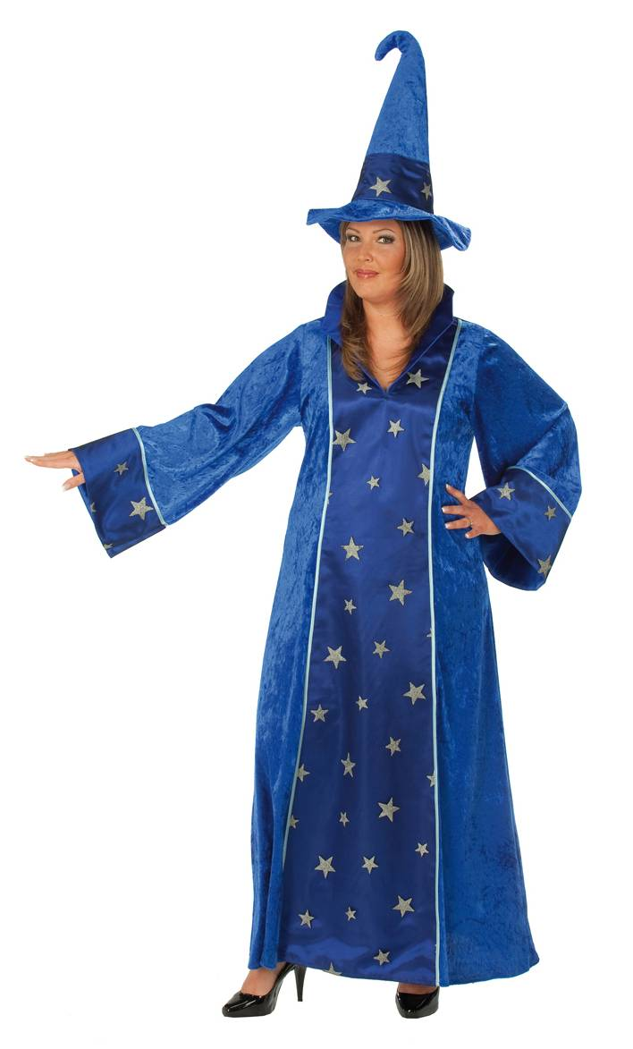 Costume-Fée-Magicienne-Grande-Taille-XL-XXL