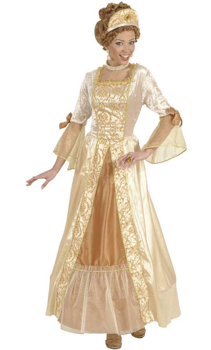 Robe-de-Marquise-golden-grande-Taille-XL
