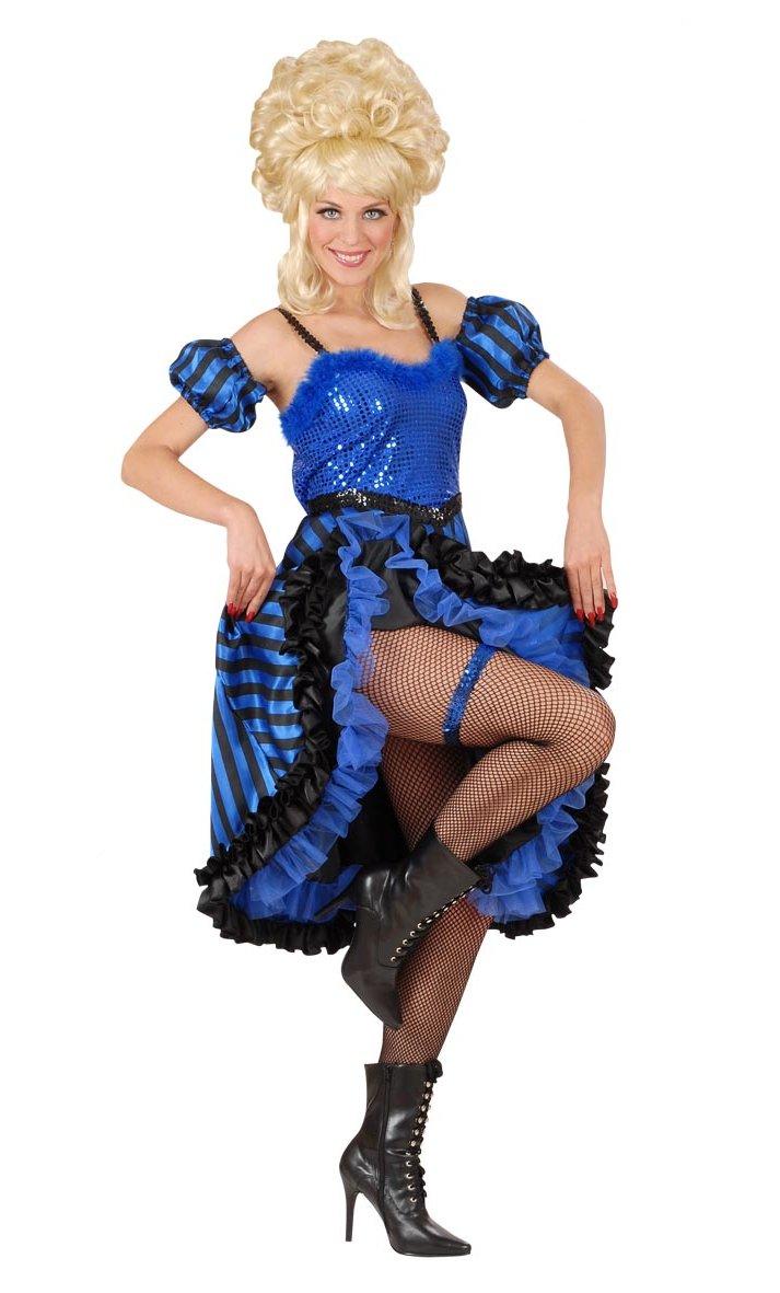 Costume-Cancan-Bleu-Grande-Taille-XL