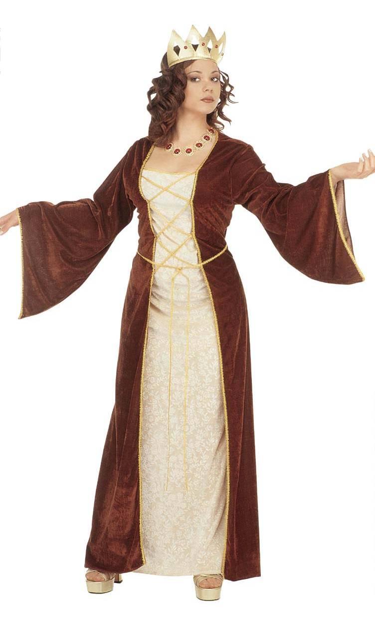 Robe médiévale-grande taille xl