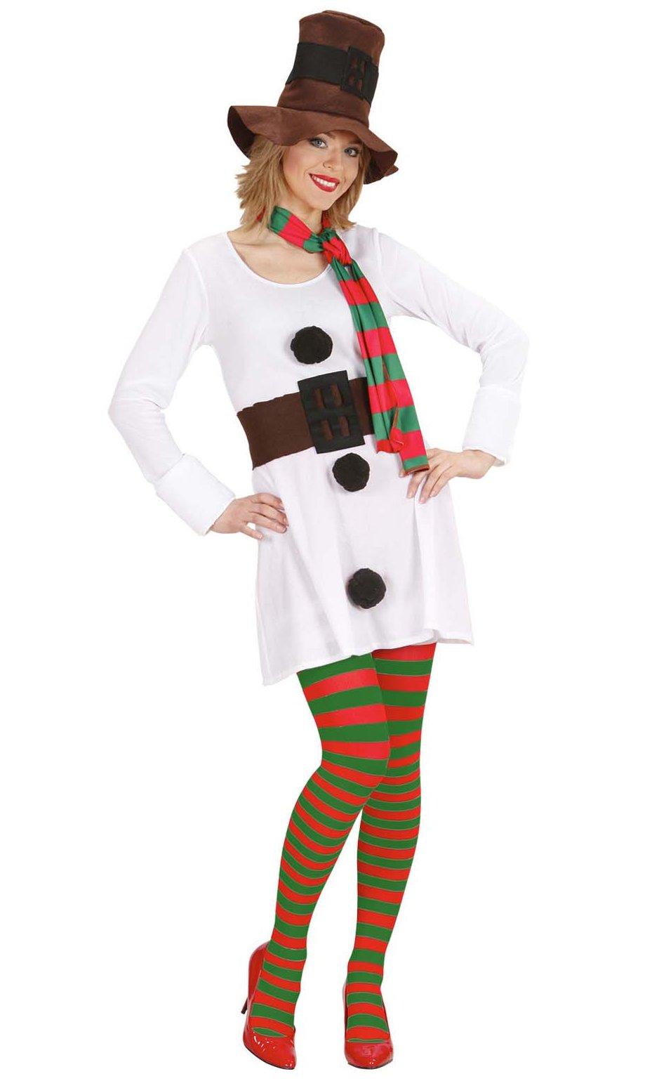 Costume-Bonhomme-de-neige-Femme