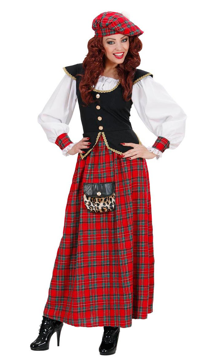 Costume-écossaise-femme-Grande-Taille-XL