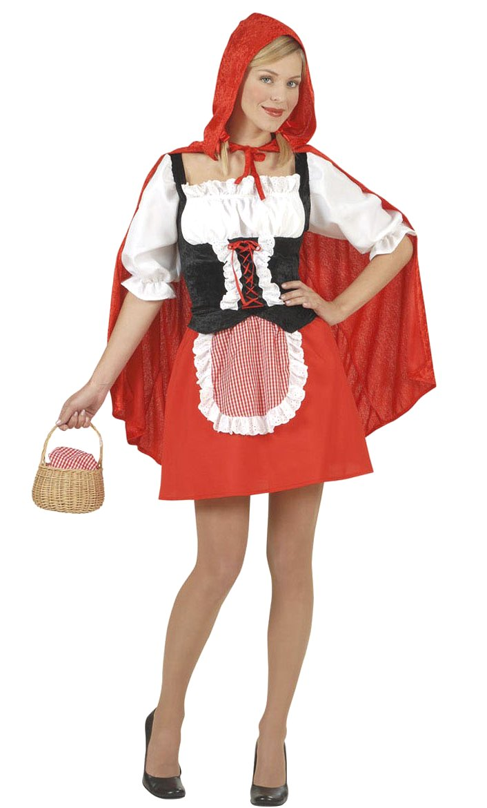 Costume chaperon rouge grande taille xl -