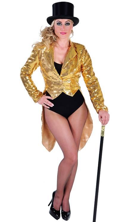 Veste-queue-de-pie-paillettes-or-femme