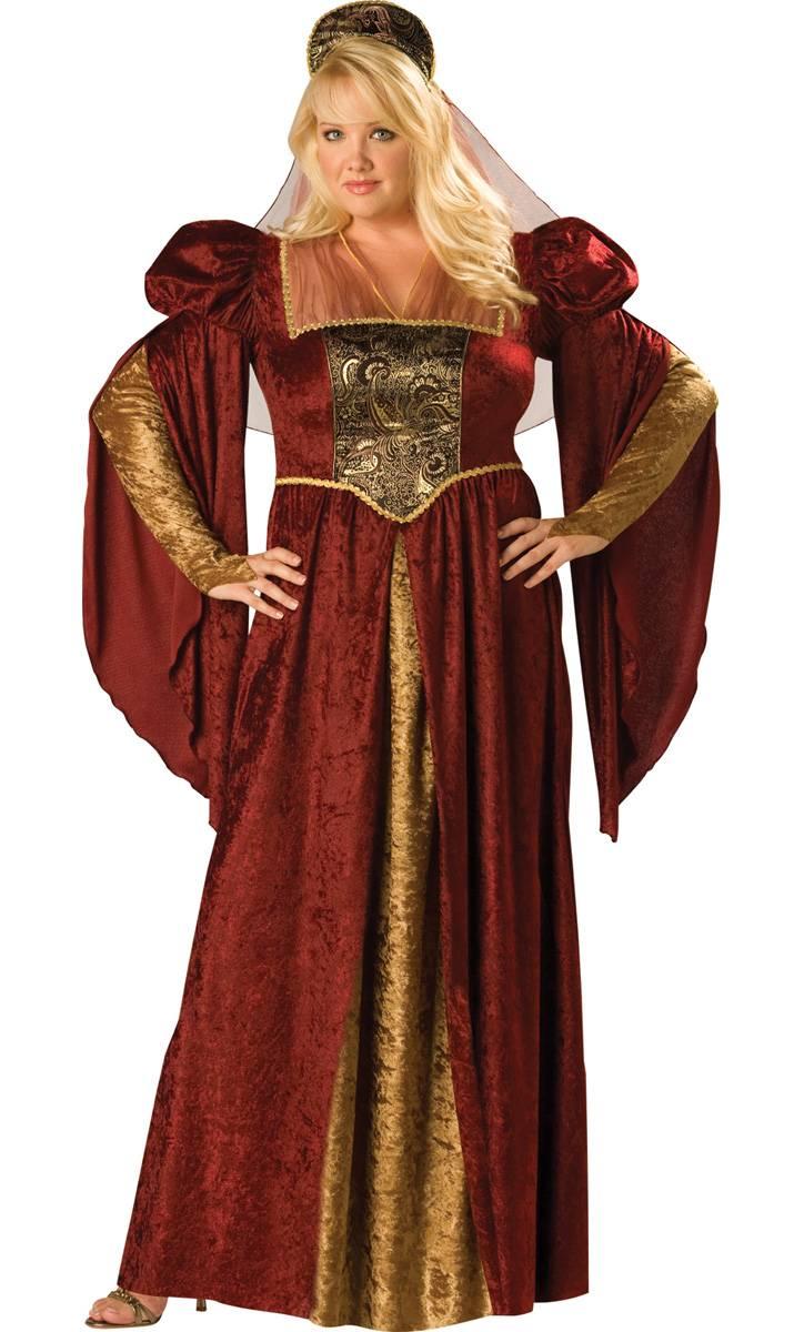 Costume-Médiévale-Grande-Taille-XXL