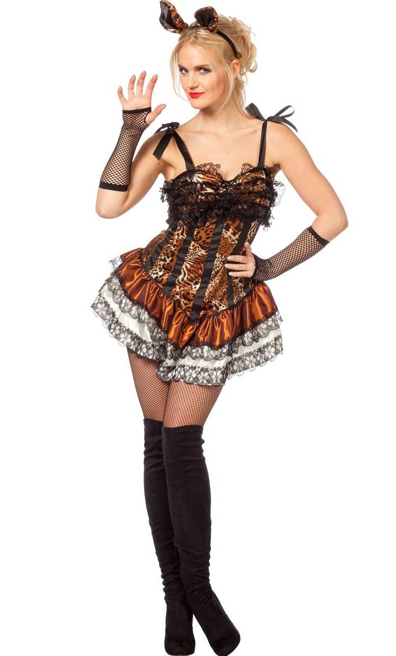 costume de tigresse fa on cabaret v29933. Black Bedroom Furniture Sets. Home Design Ideas