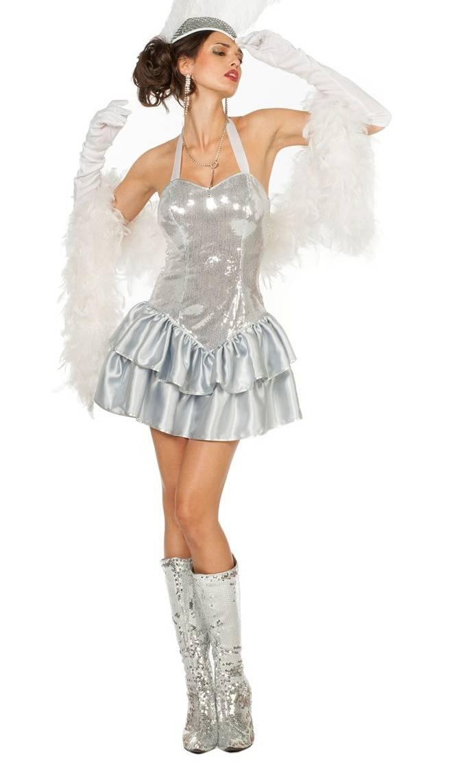 Costume-Cabaret-Argent