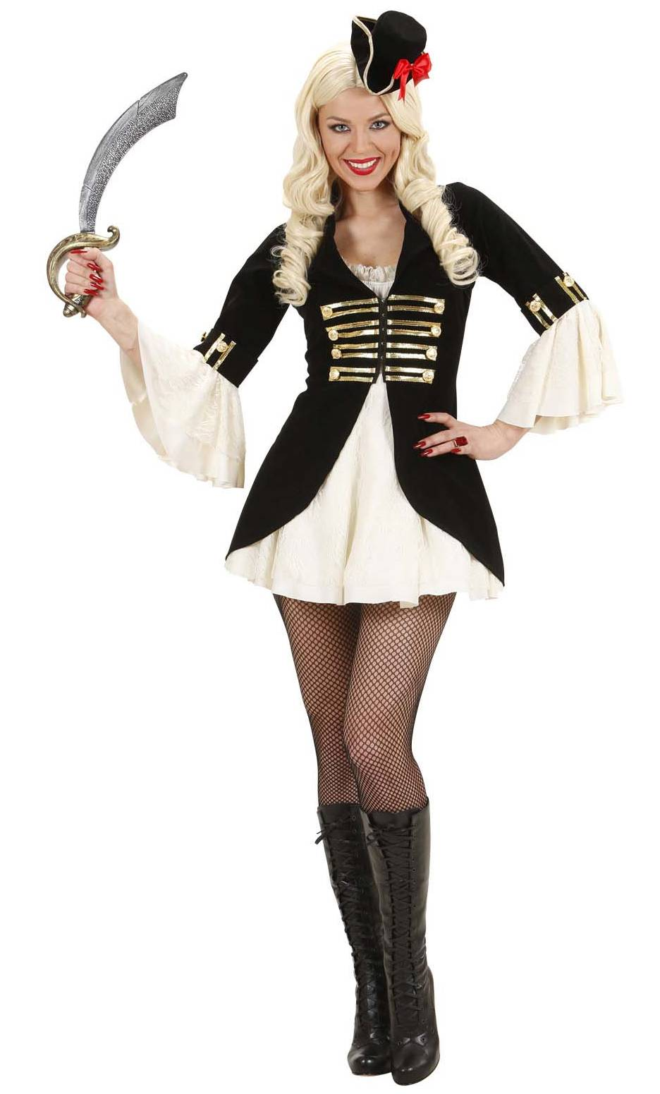 Costume de pirate femme