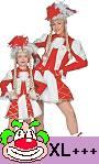 Costume-Majorette-Femme-rouge-Grande-taille