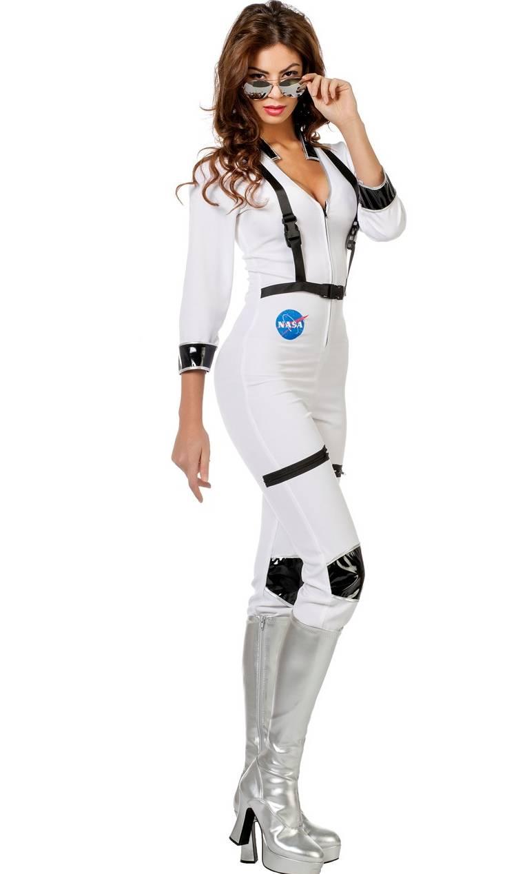 costume astronaute femme f2 v29964. Black Bedroom Furniture Sets. Home Design Ideas