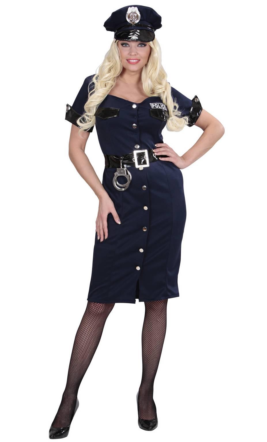 costume de policire pour femme v29970. Black Bedroom Furniture Sets. Home Design Ideas