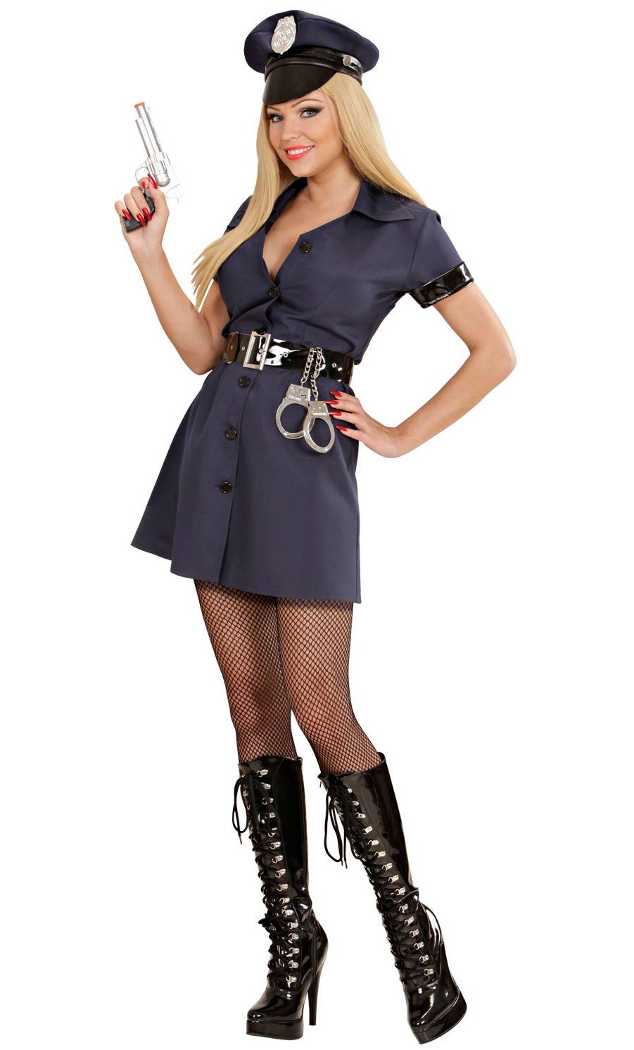 Costume-de-policière