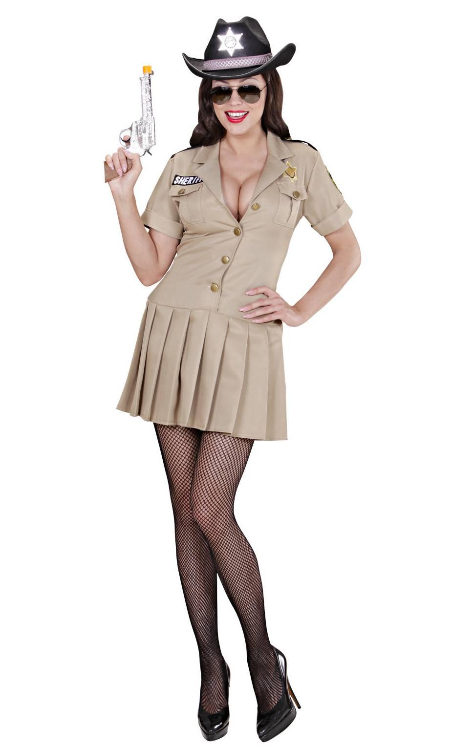 Costume sheriff femme