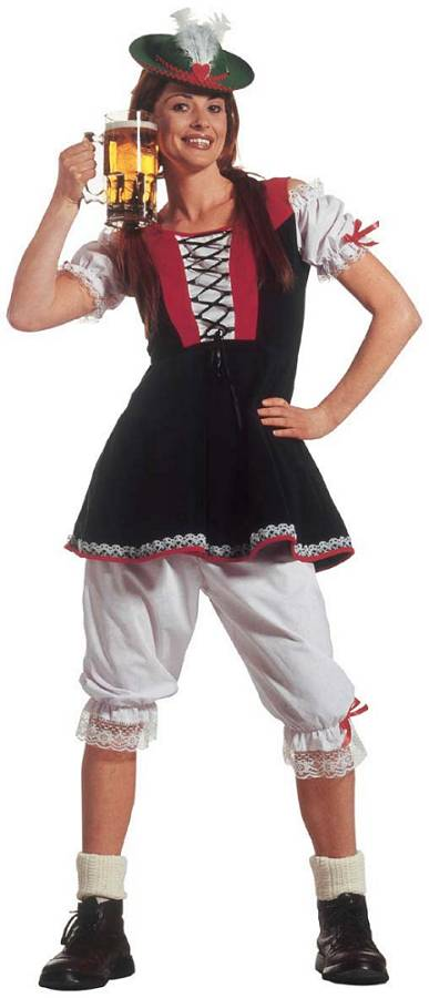 Costume tyrolienne xl