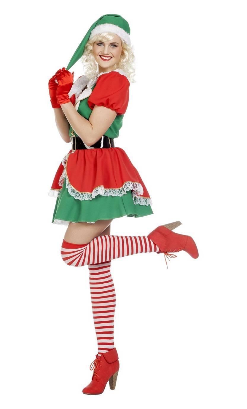 Costume-Lutin-Noël-Femme-2