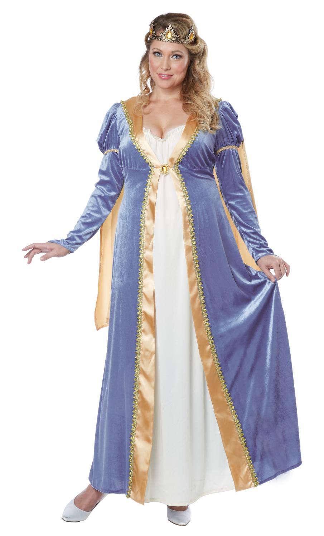 Robe-Renaissance-Grande-taille