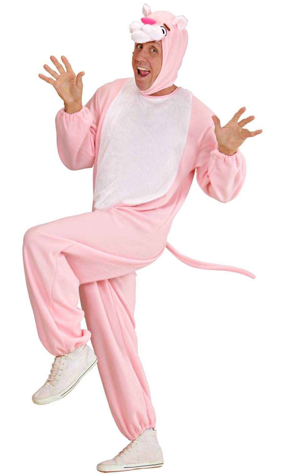 Costume de panthère rose pour adulte