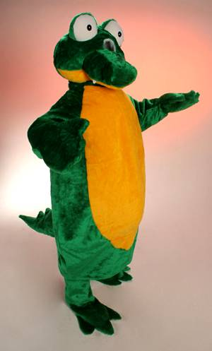 Mascotte-de-Crocodile
