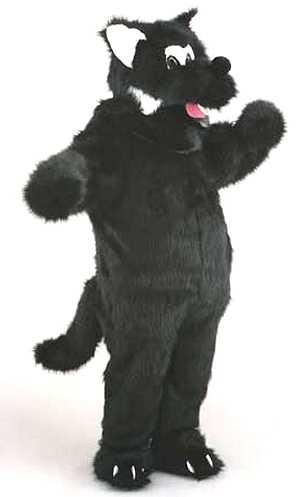 Costume-Mascotte-Loup-Noir-M1