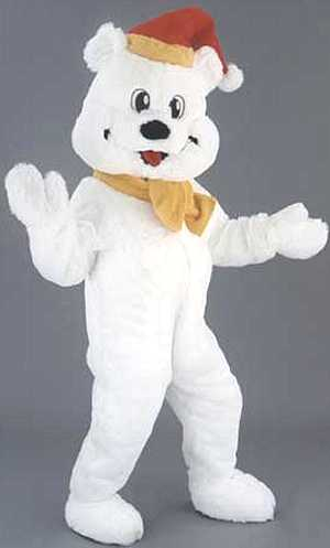 Costume-Mascotte-Ours-Blanc-Noël-M4