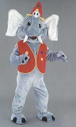 Costume-Mascotte-Eléphant-M1