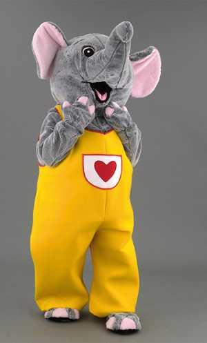 Costume-Mascotte-Eléphant-M4