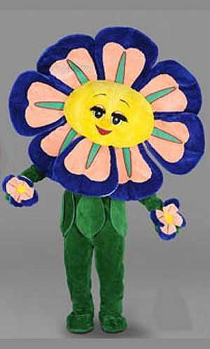 costume mascotte fleur m4 v39319. Black Bedroom Furniture Sets. Home Design Ideas
