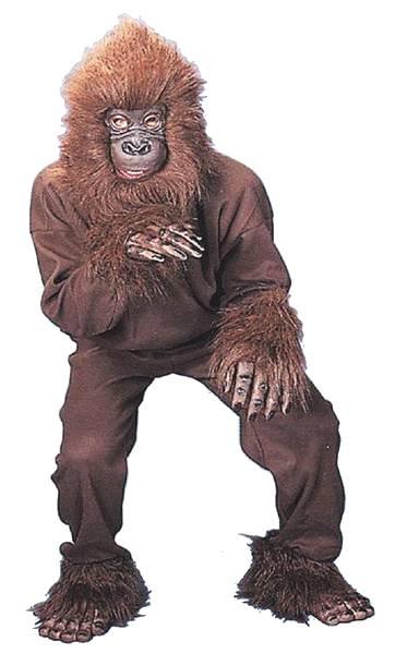 Mascotte-de-singe-orang-outang