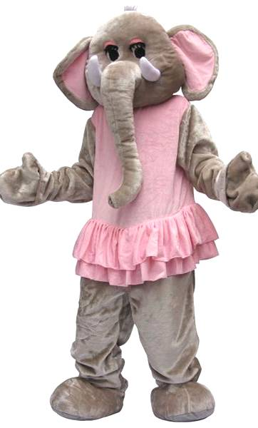 Mascotte-déléphant