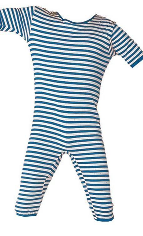Costume maillot de bain retro bleu v39381 - Maillot de bain annee 30 ...