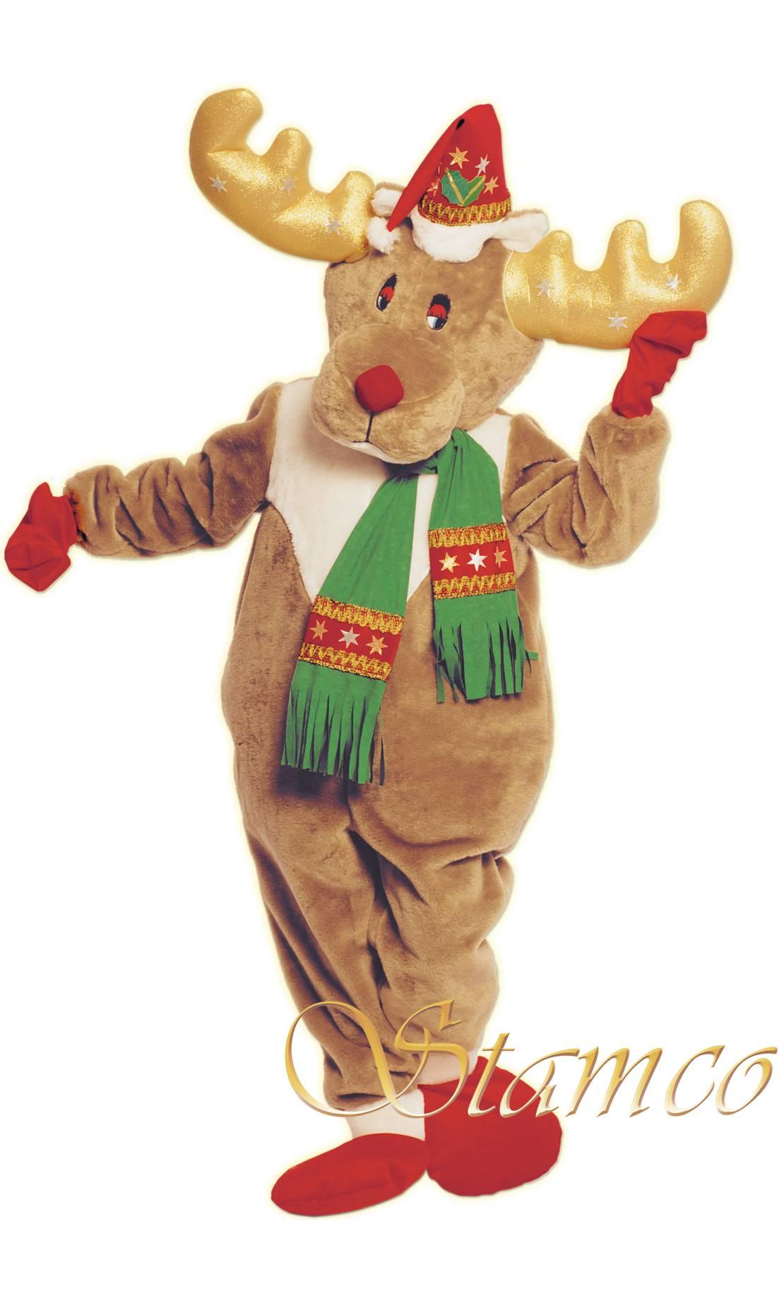Reindeer-mascot