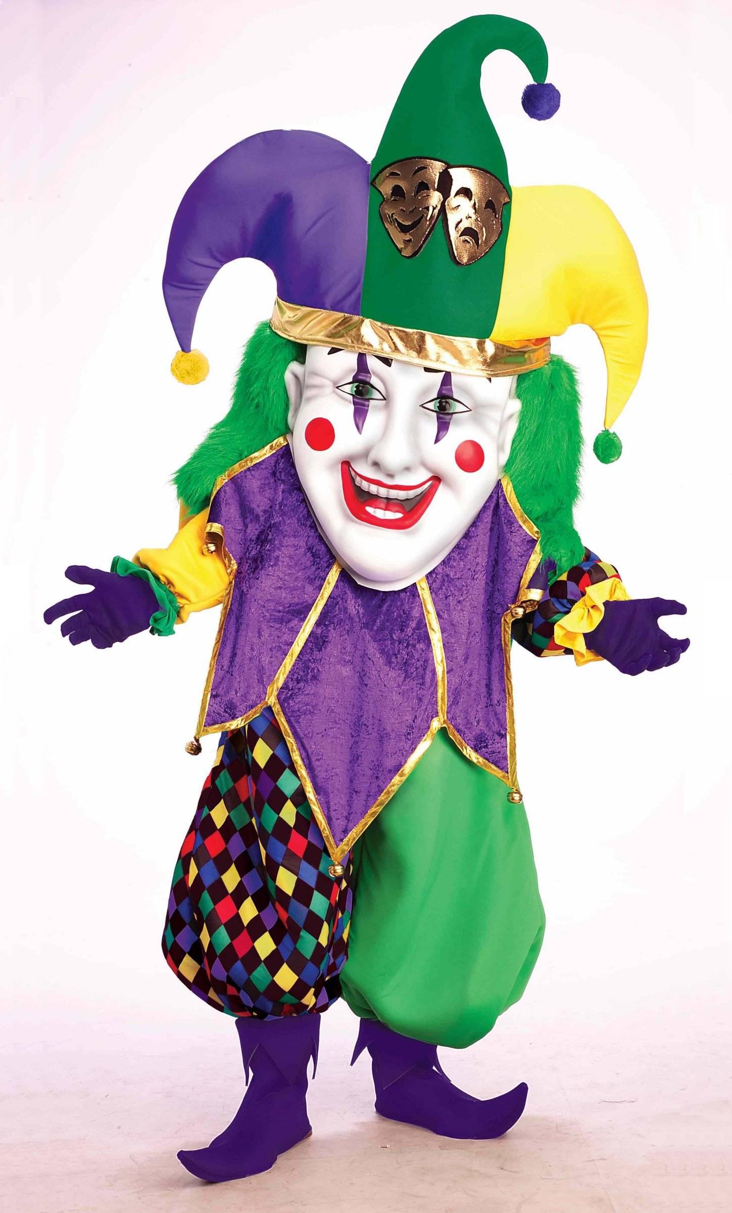 Costume fou du roi bouffon parade v39410 - Maquillage chapelier fou ...