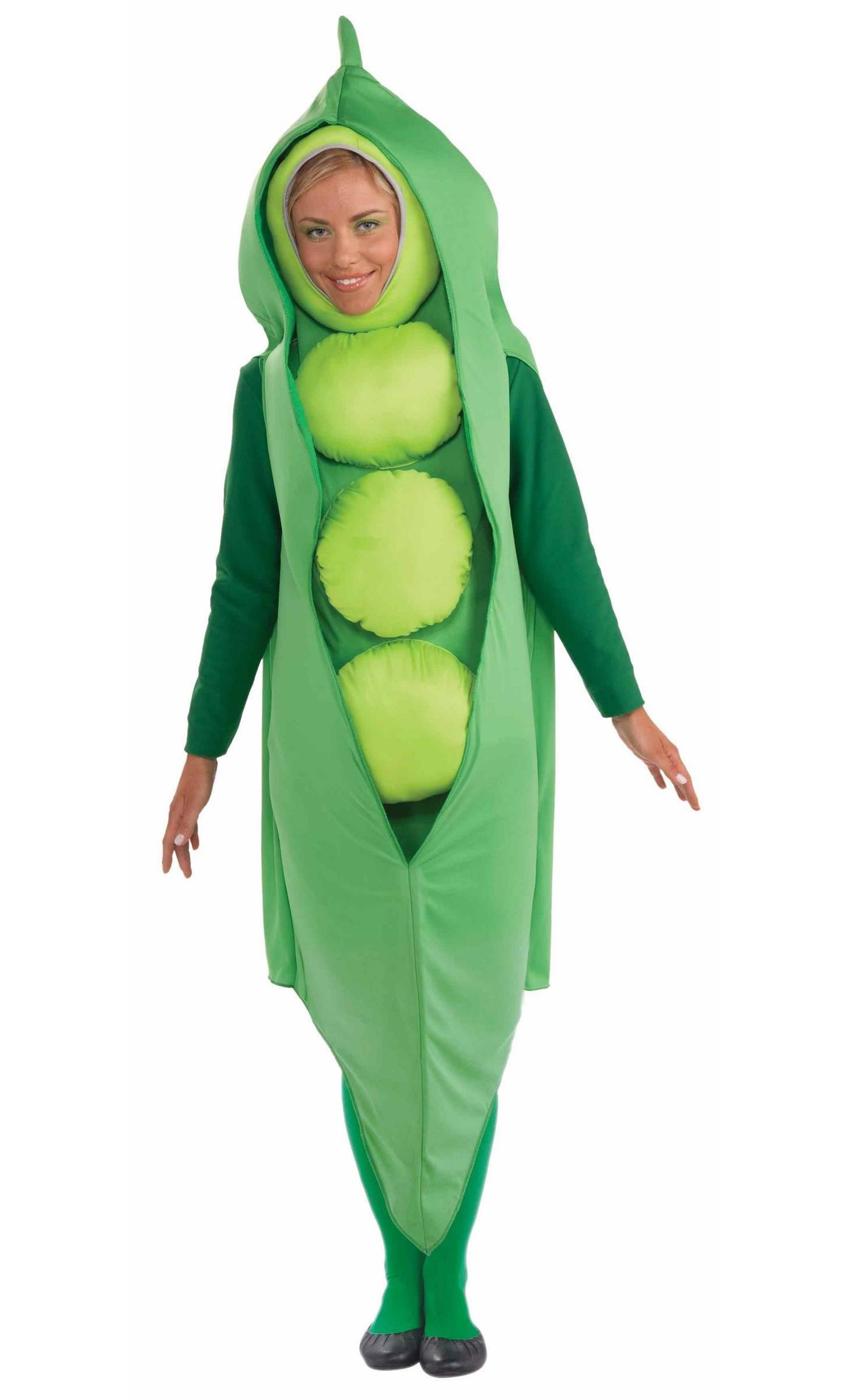 Costume-Petit-Pois-Légume-Adulte