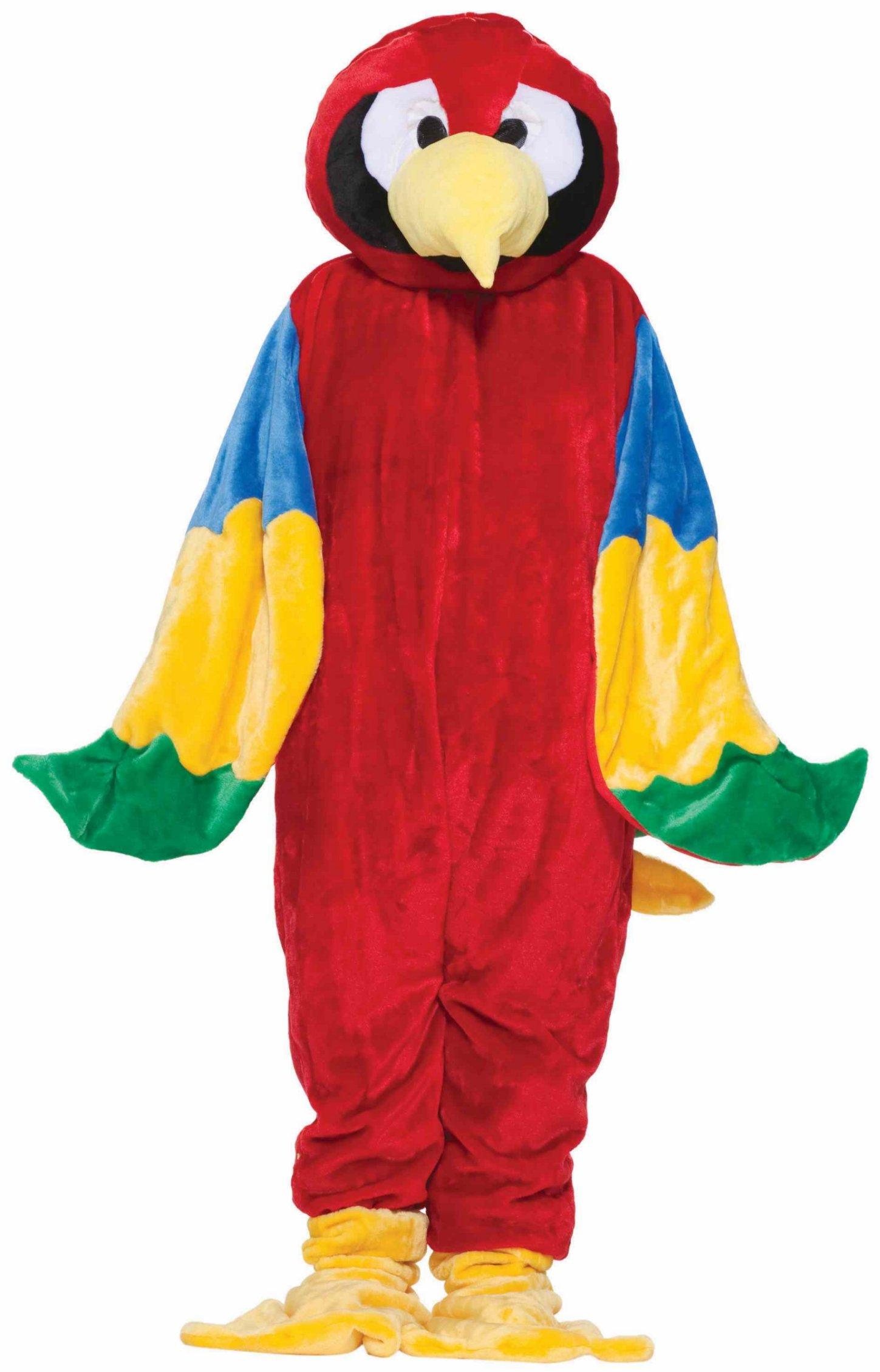Costume-Mascotte-Perroquet