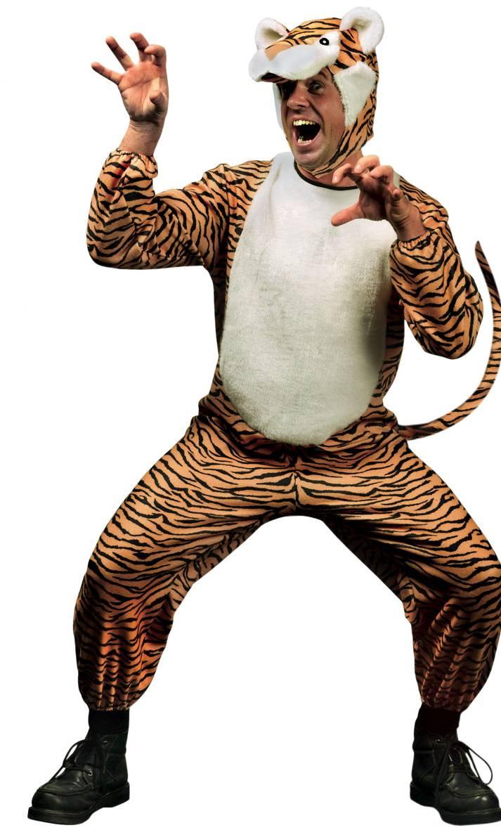 Costume tigre m2 - grande taille xl -
