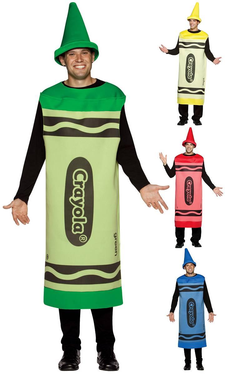 Costume-Crayon-de-couleur-Crayola-Adulte-XL-XXL