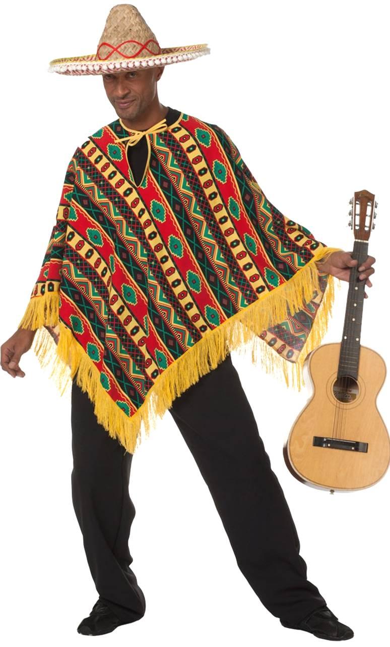 Poncho-mexicain