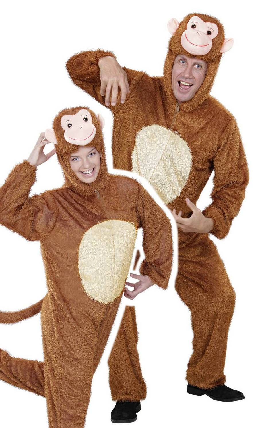 Costume de singe pour adulte xl-grande taille