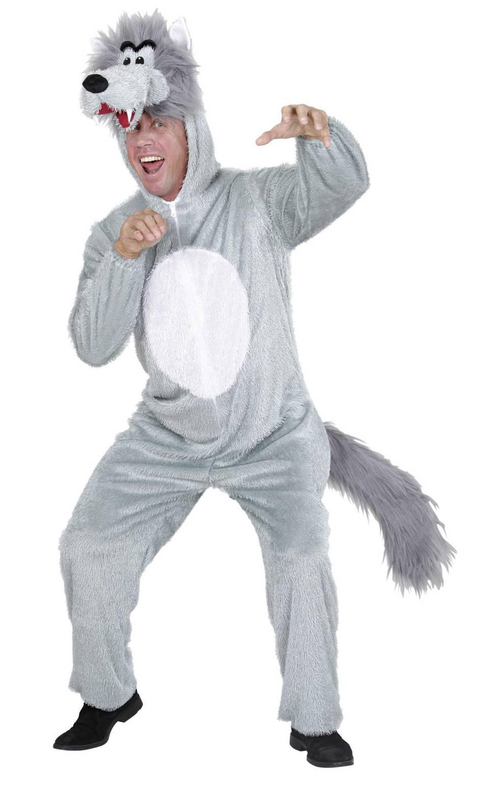 Costume de loup en grande taille