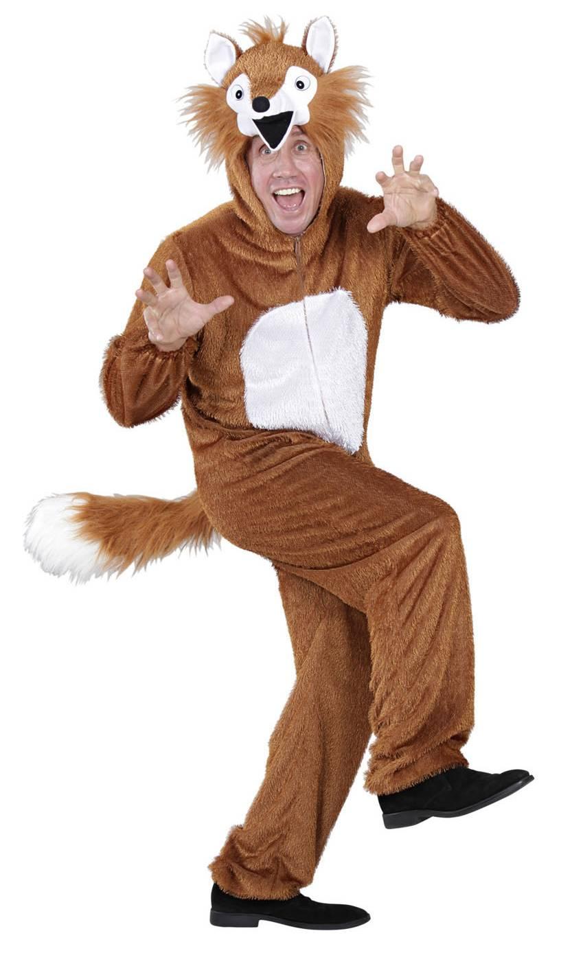 Costume de renard en grande taille